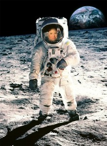 marilyn on the moon